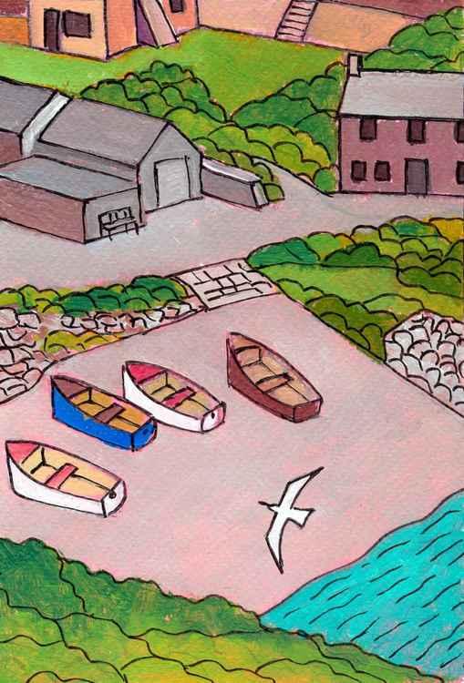 Penberth Cove. -