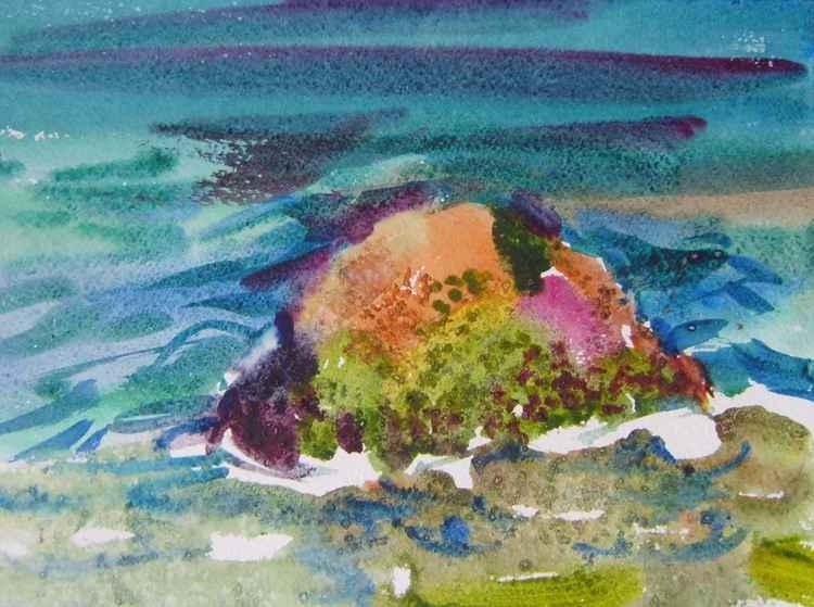 Seascape, 21x28 cm -