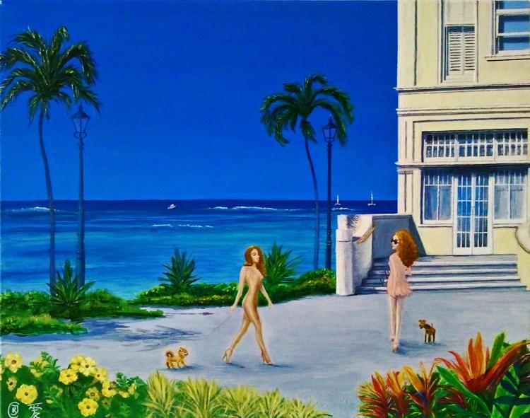 Moana - In the Spirit of Aloha (50 x 40 cm) - Image 0