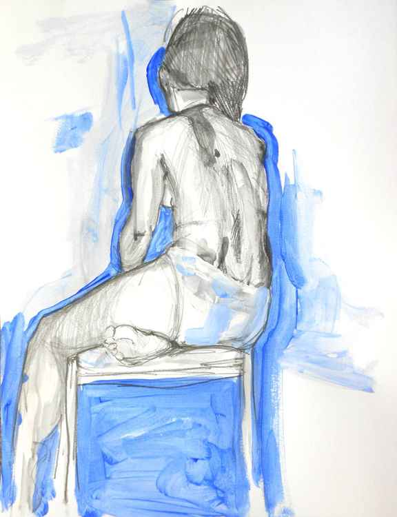 Nude from the back No3
