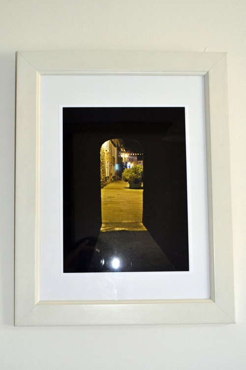Exit from the Dark Side - Framed Fine Art Giclee Print - Image 0
