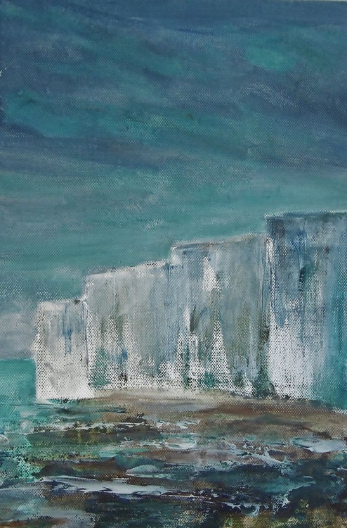 Stormy White Cliffs #3 - Image 0