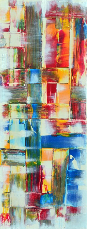 Abstract Home Decor 071 - Long Deep Edge Canvas Ready To Hang - Image 0