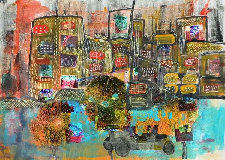 City landscape -