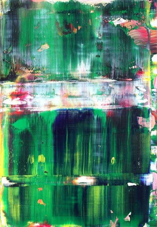 Abstract green & red - Image 0