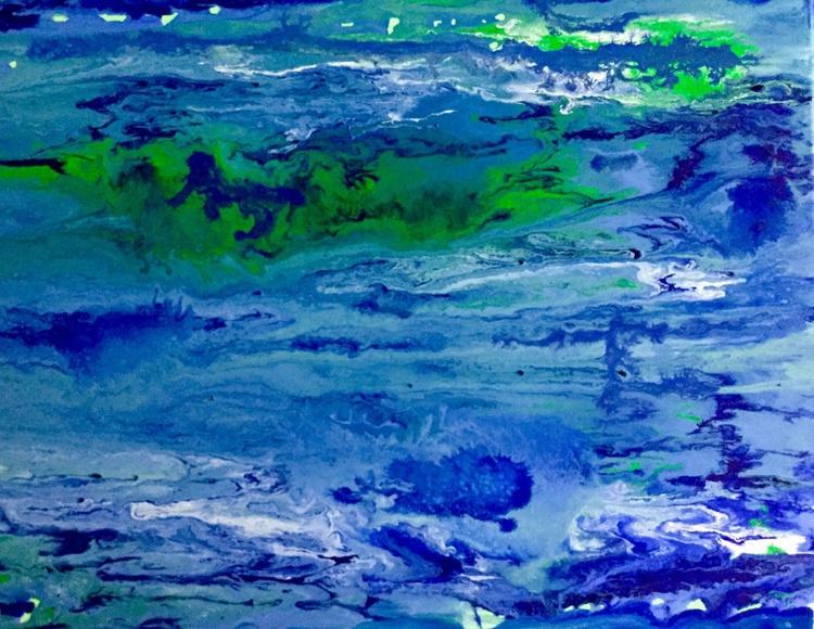 Abstract Lapis Lazuli  # perfect gift - Image 0