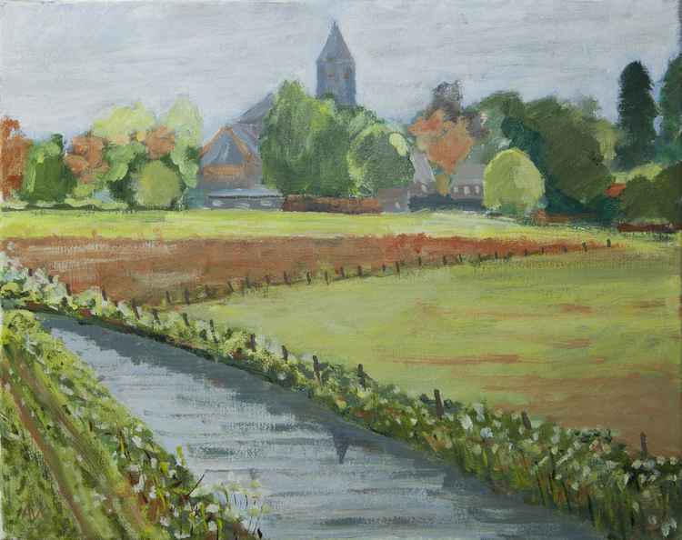 Zundert where Vincent van Gogh lived in his youth -