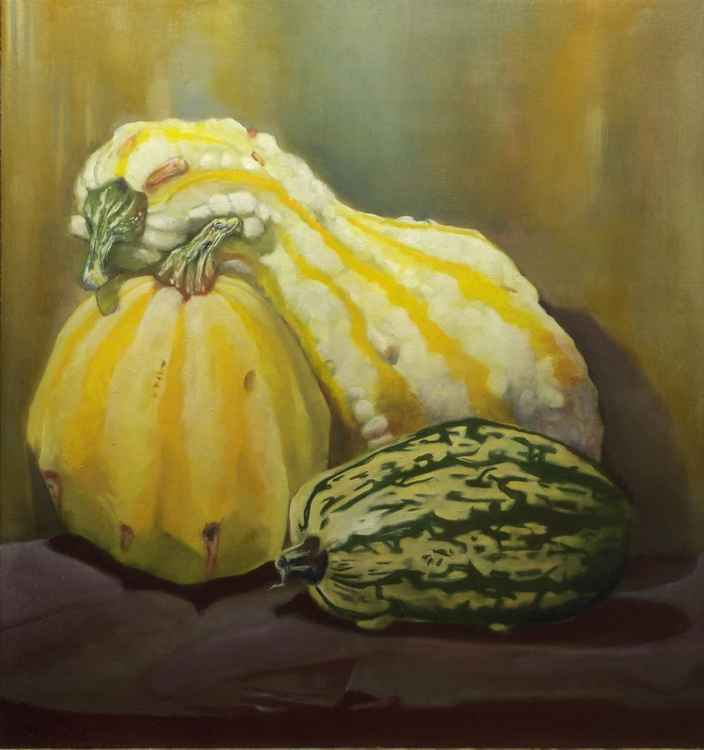 three gourds