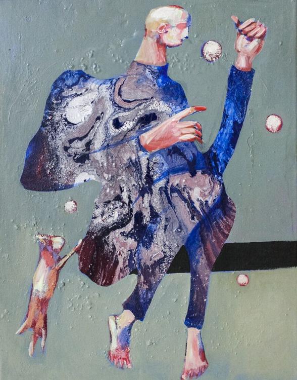 blue boy - Image 0