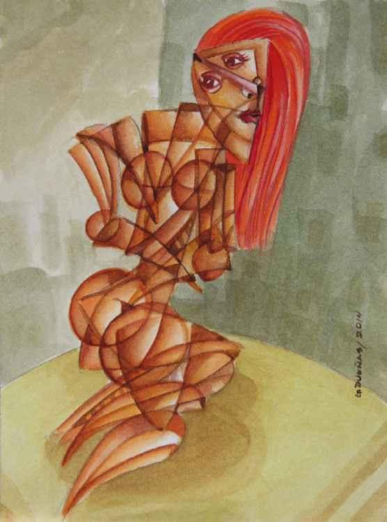 Red Headed Nude Studio1 -