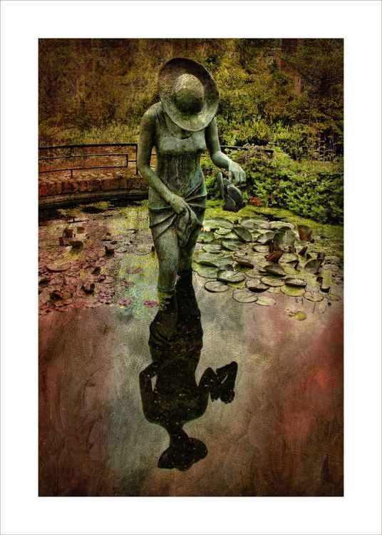 Pond Statue -