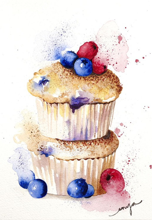 A fruity little muffin - Image 0