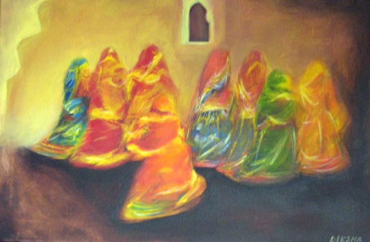 Folk dancers of Rajasthan - Image 0