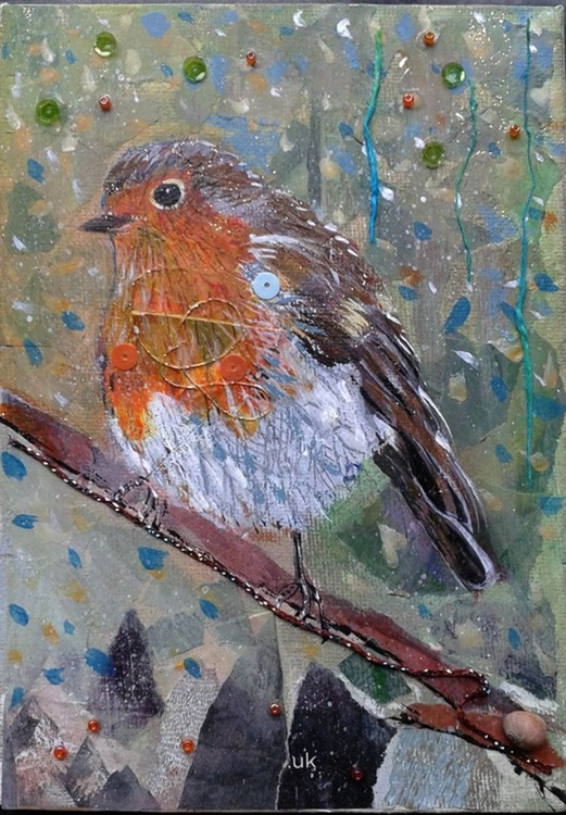 Robin in the woods - Image 0