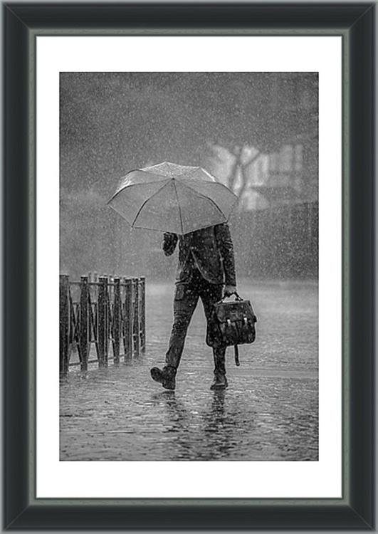 "Rain Man  - 12x18"" Limited Edition Framed Print - Image 0"
