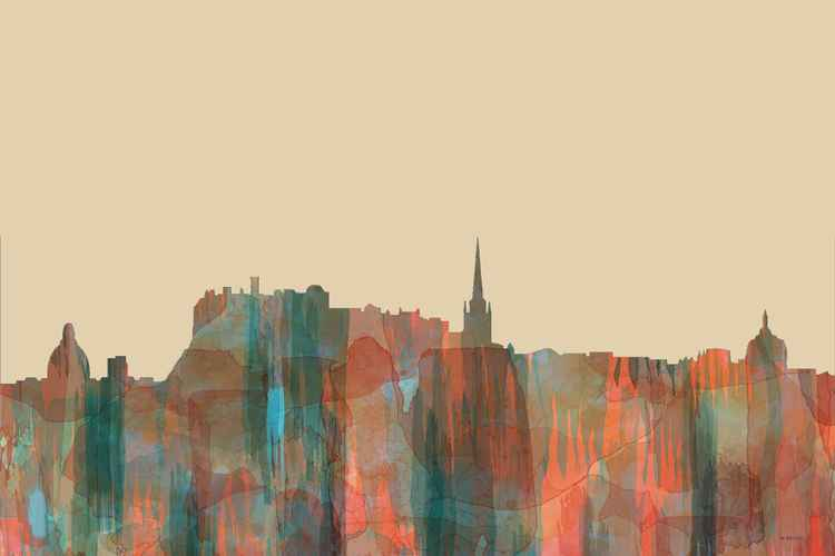 Edinburgh, Scotland, UK Skyline - Navaho
