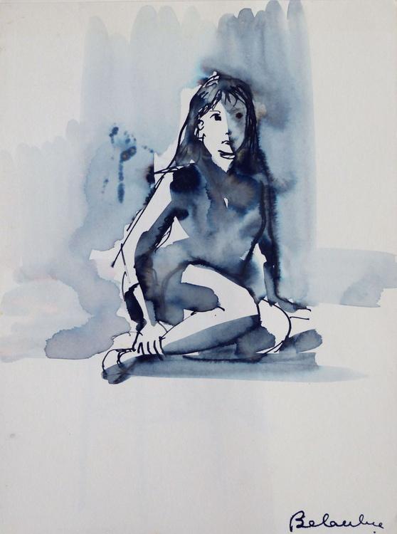 Irene, Passage Charles-Albert, #3, 24x32 cm - Image 0