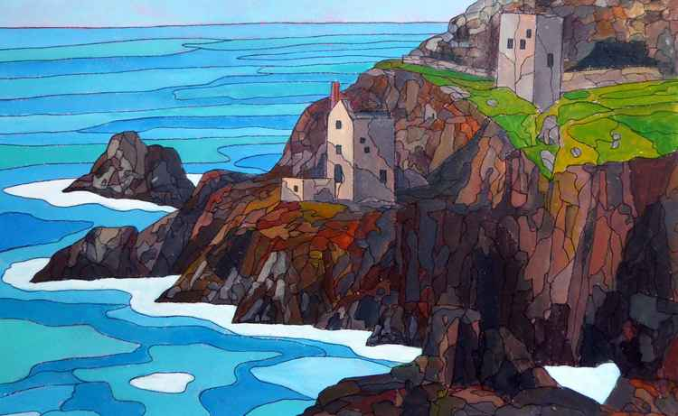 The Crowns mines, Botallack. -