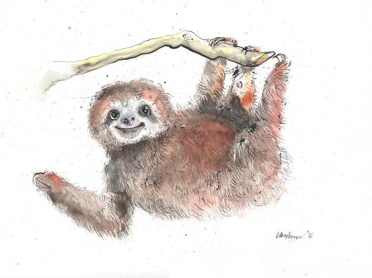 Happy Sloth - Image 0