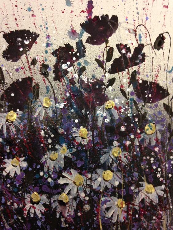 Dark poppy sparkle - Image 0