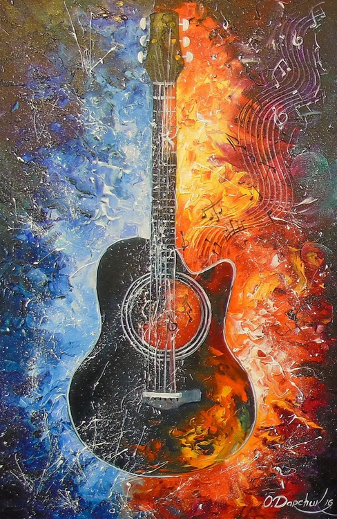 The melody of the guitar - Image 0