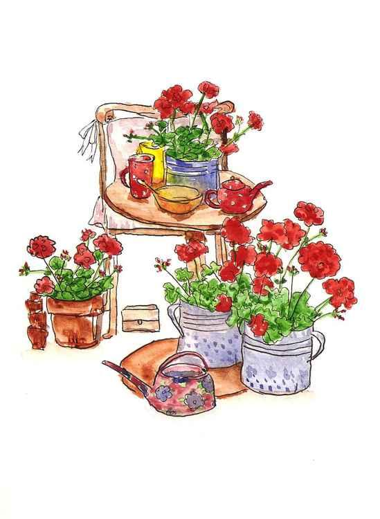 Geranium Tea -