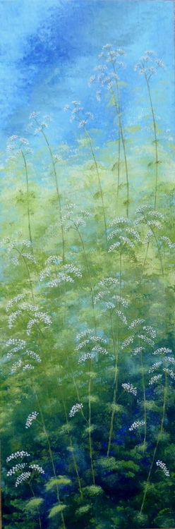 Cow Parsley with green - Image 0