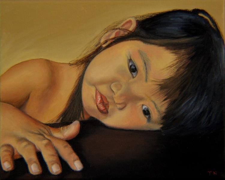 Amelie-An 11 - child portrait - little girl - Image 0