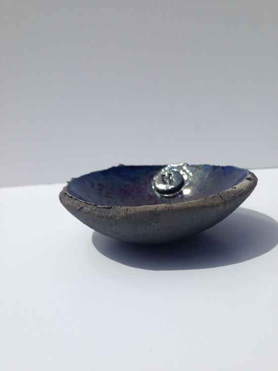 Purple/Blue Ring Bowl
