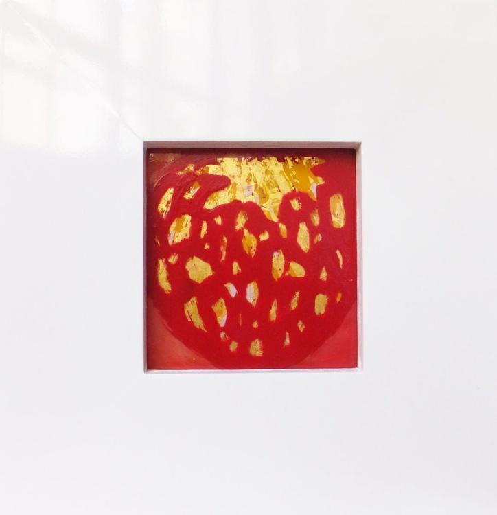Strawberry,decorative art,gift idea,home deco - Image 0