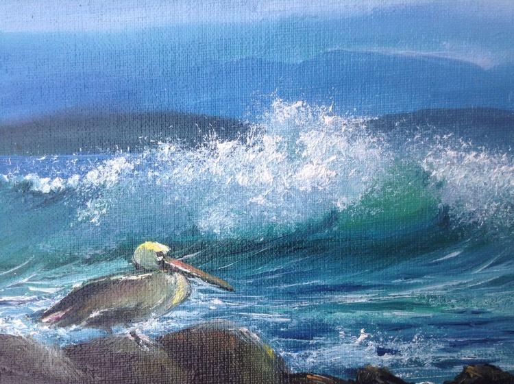 the bird and sea. Miniature - Image 0