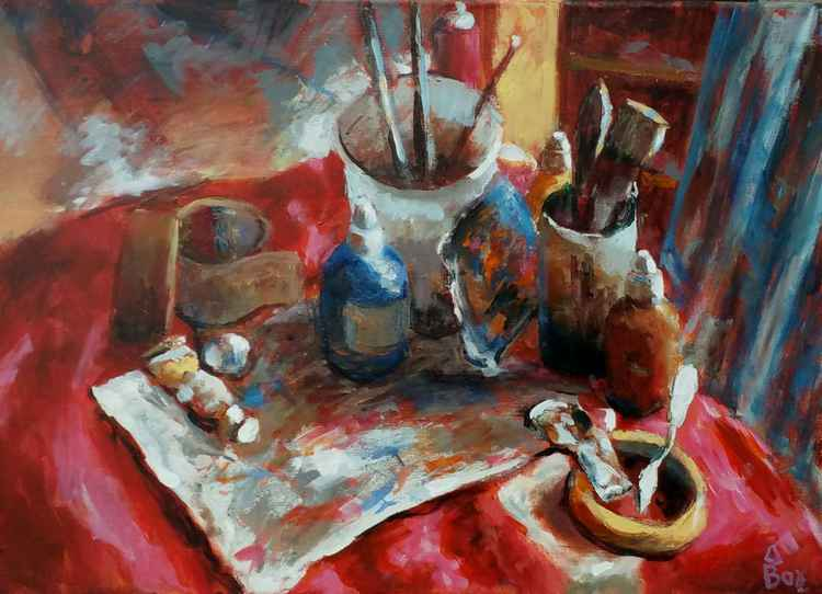 Artists materials -