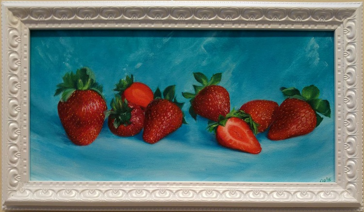 strawberry on a hot summer day - Image 0