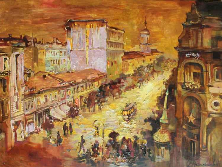 Old Kiev. st. Vladimirskaya