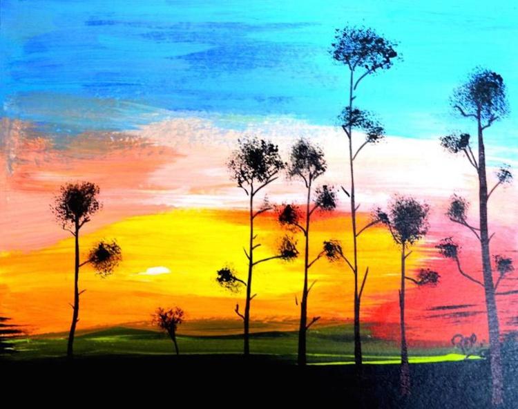 Landscape art - Fledgling - Image 0