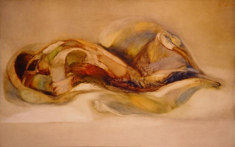 Transfigure #6, oil on canvas 116x73 cm - Image 0