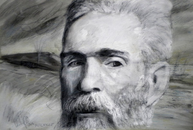 Portrait of Hermann Melville - Image 0
