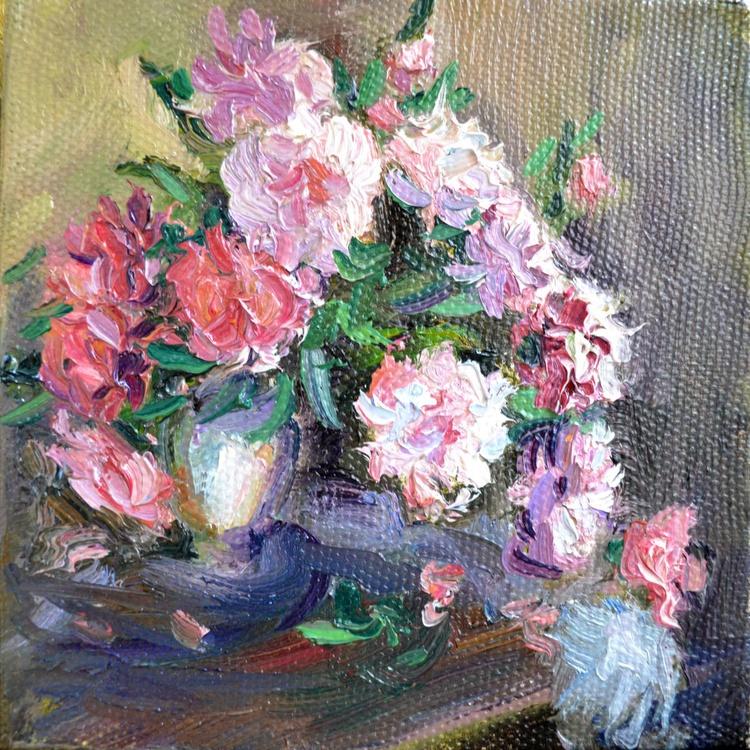 Peonies in a vase - Image 0