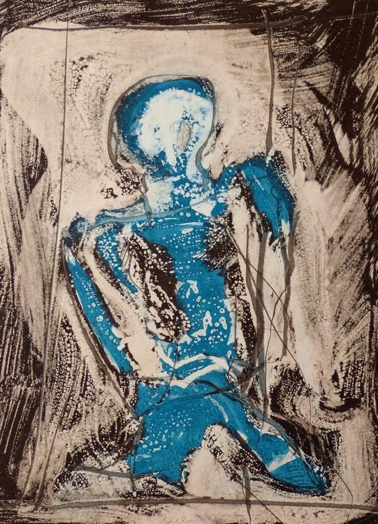 Ink on Paper #288, 42x58 cm - Image 0