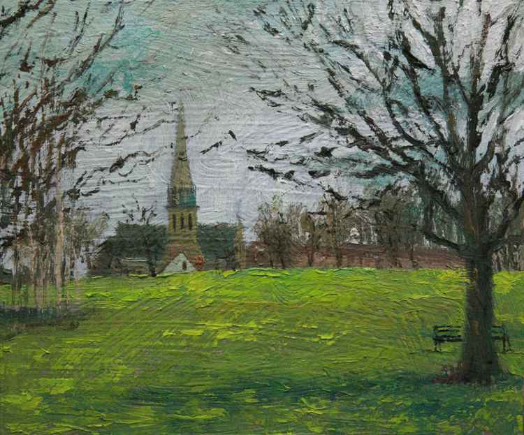 Brockwell Park, St Jude's Church - London