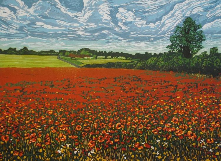 """""""Red Landscape"""" - Image 0"""