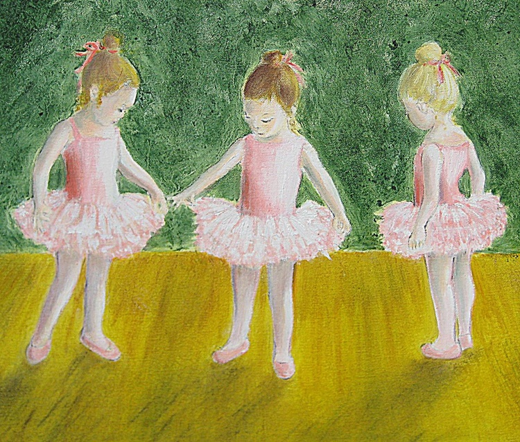Rehearsals at Baby Ballet Class - Image 0