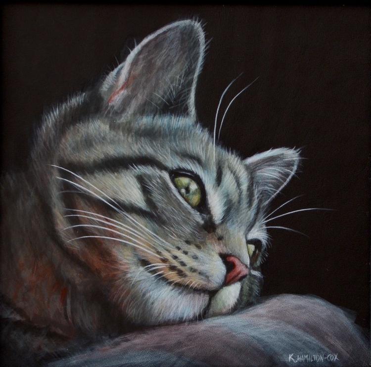 Bengal cat relaxing - Image 0