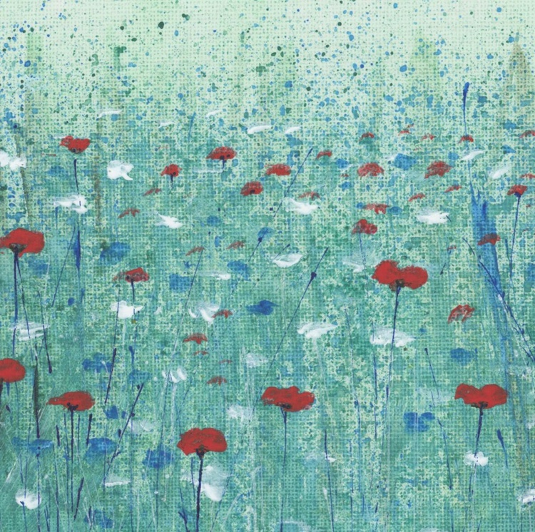 Red Poppies and Cornflowers - Image 0