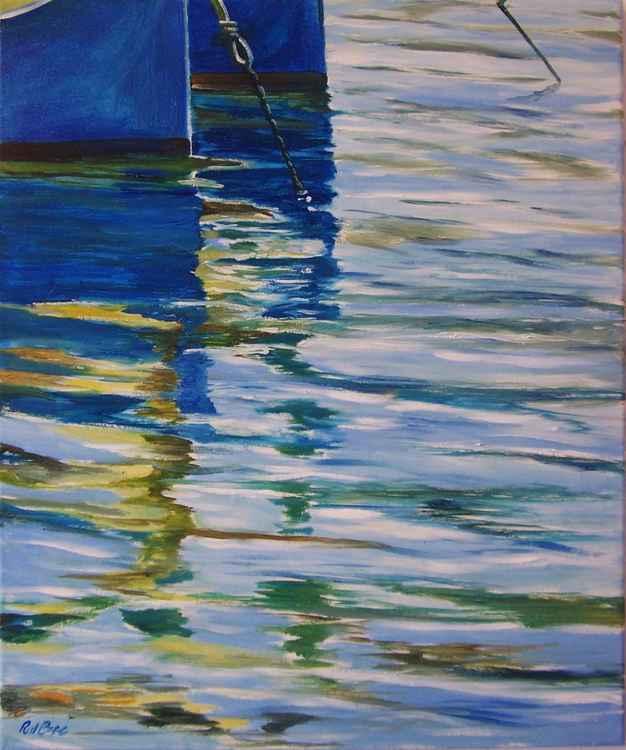 Blue boats 2