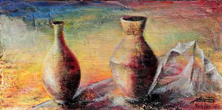 sad vases -