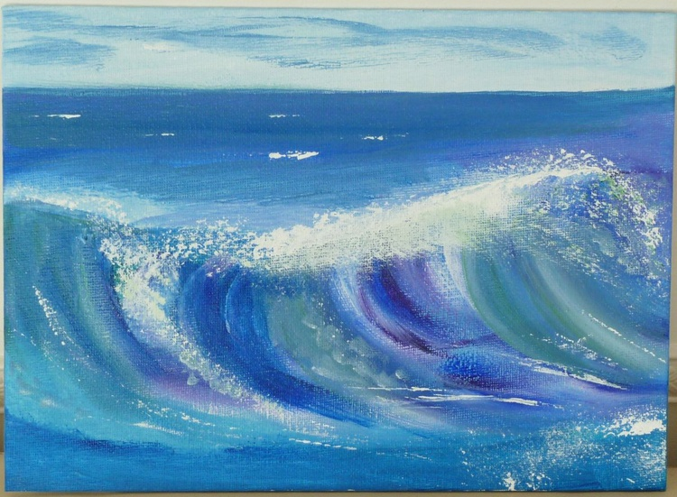 Purple wave - Image 0