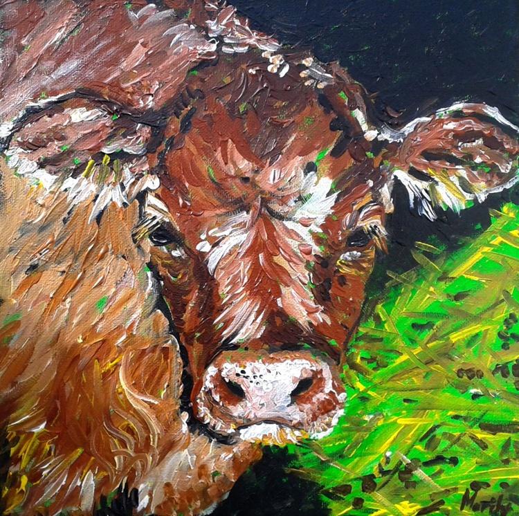 """Little brown calf"" - Image 0"