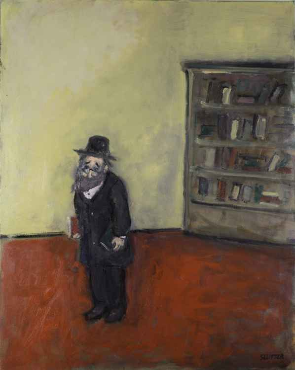 Jewish man carrying books    (Cat N° 4540)