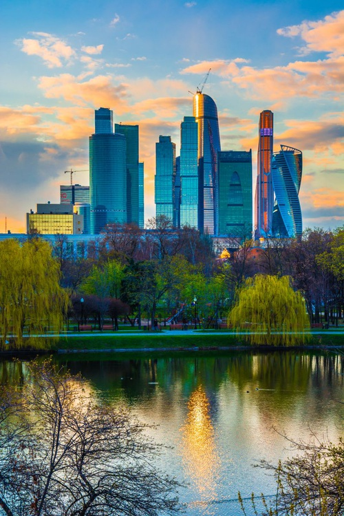 Spring in Moscow City - Image 0